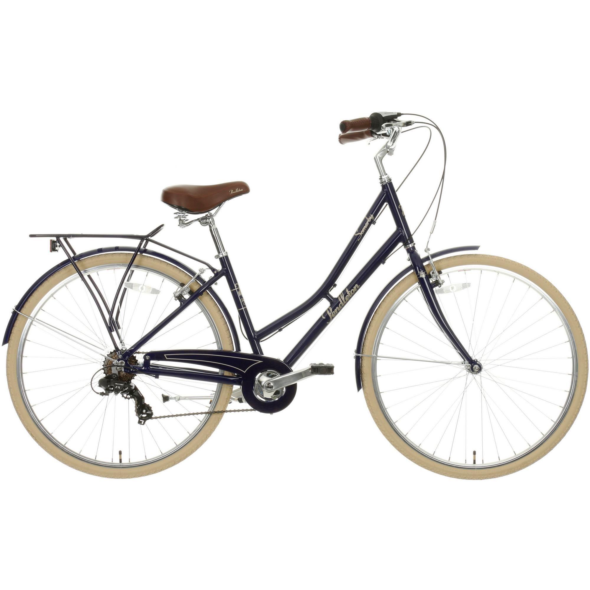 Pendleton Somerby Hybrid Bike Midnight Blue Hybrid Bike Bike
