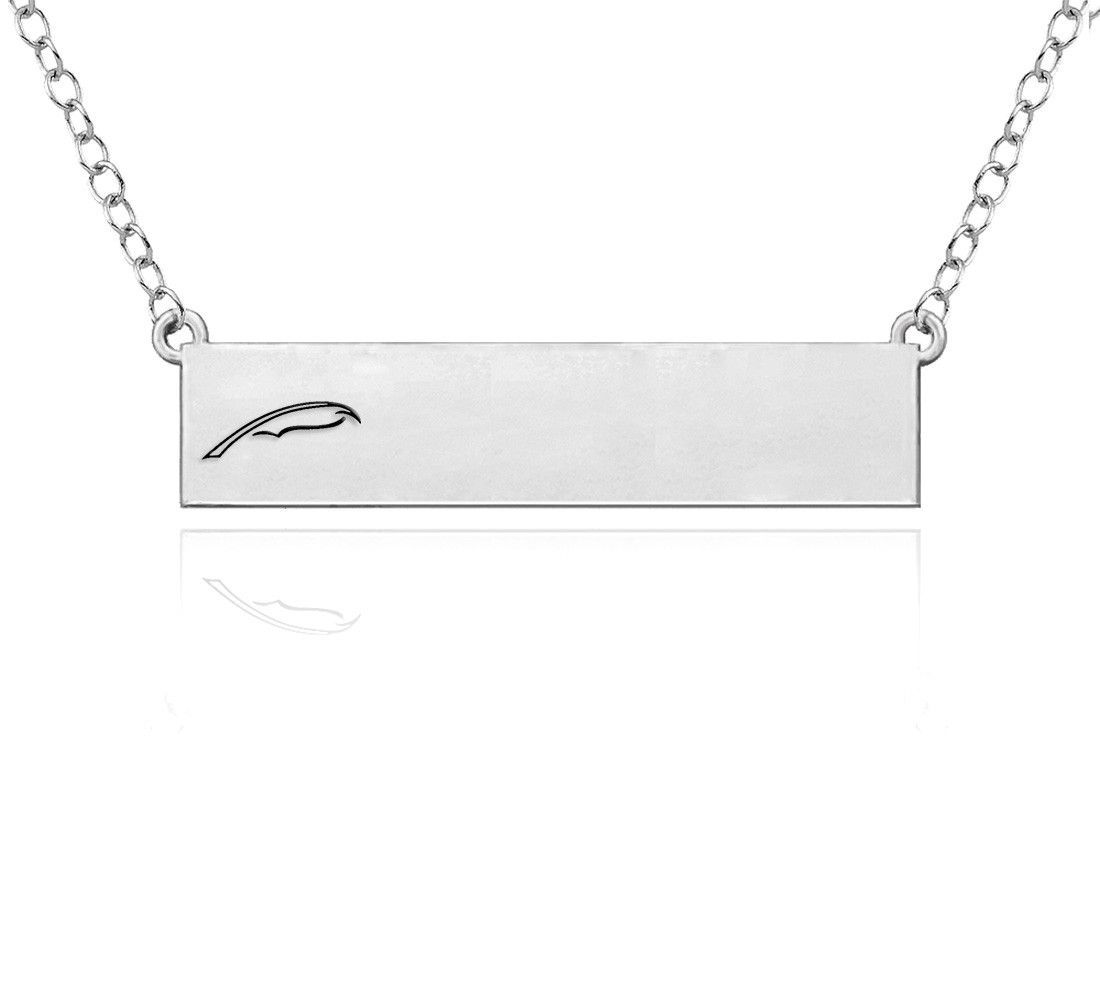 Alpha xi delta symbol sterling silver bar style necklace symbols alpha xi delta symbol sterling silver bar style necklace buycottarizona Gallery
