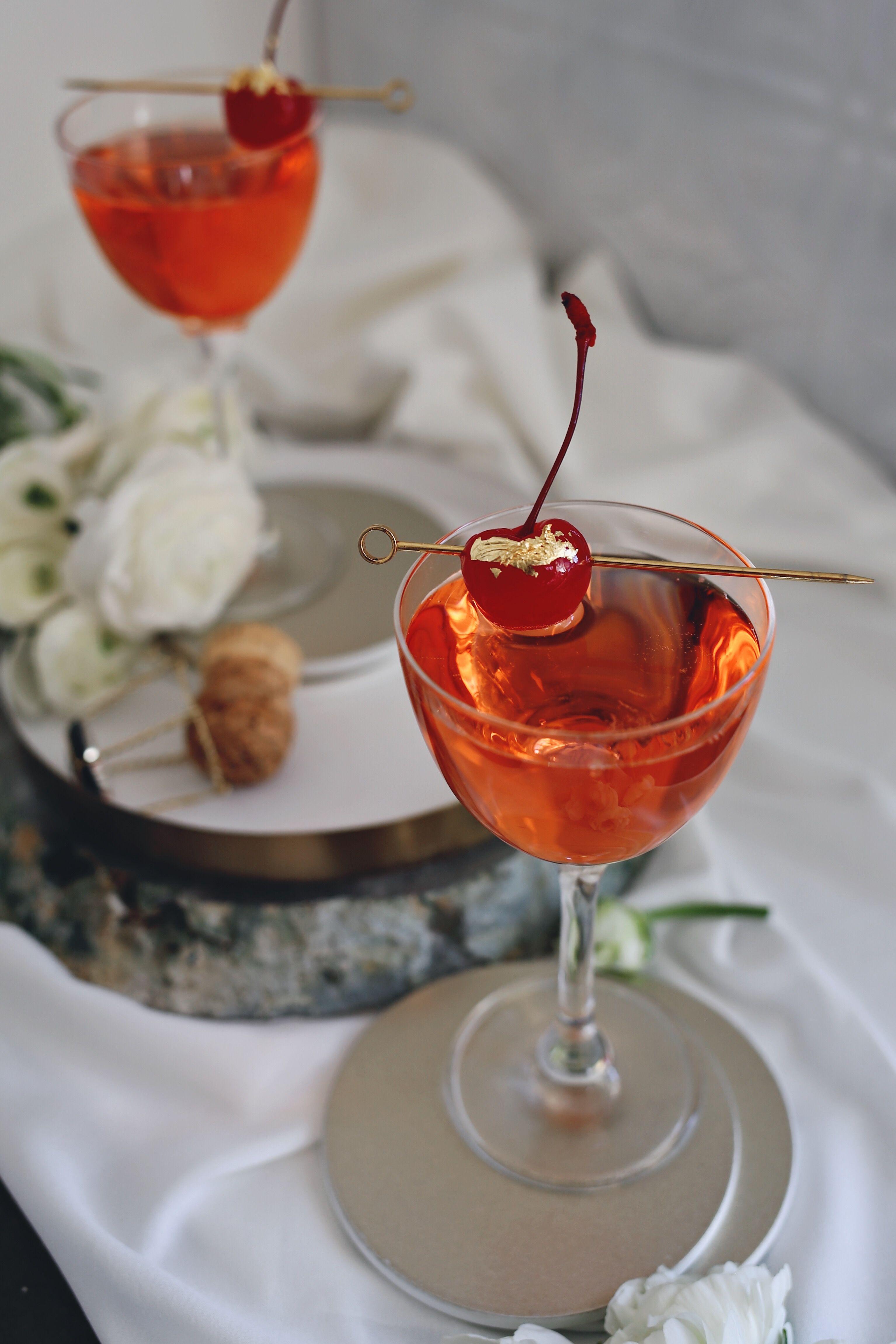 "Old Hollywood Oscar Cocktail Recipe ""The Marilyn Monroe"