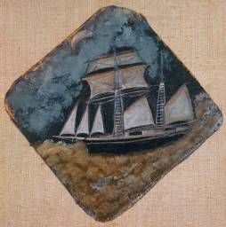 Alfred Wallis.  this would go get in the bedroom.