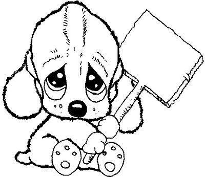 dibujos-de-perro-para-colorear-o-pintar-e1464733331557.jpg (400×346 ...
