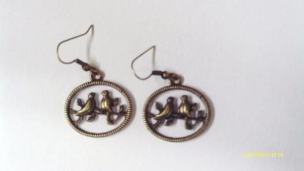 Dove Copper Pierced earrings