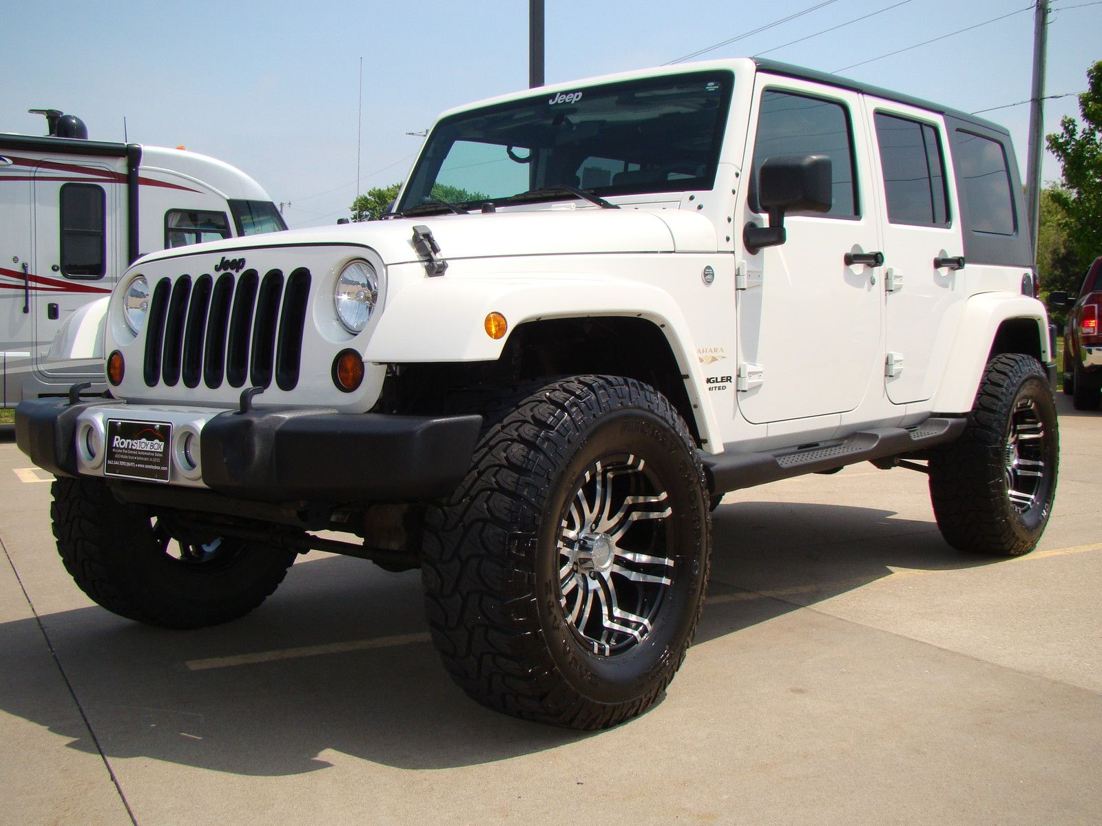 Ebay 2010 Jeep Wrangler Sahara 2010 White Jeep Wrangler Unlimited