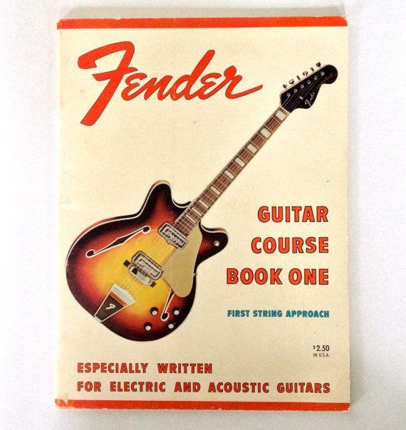 1967 fender guitar course book one vintage by estrangedephemera fender guitars. Black Bedroom Furniture Sets. Home Design Ideas