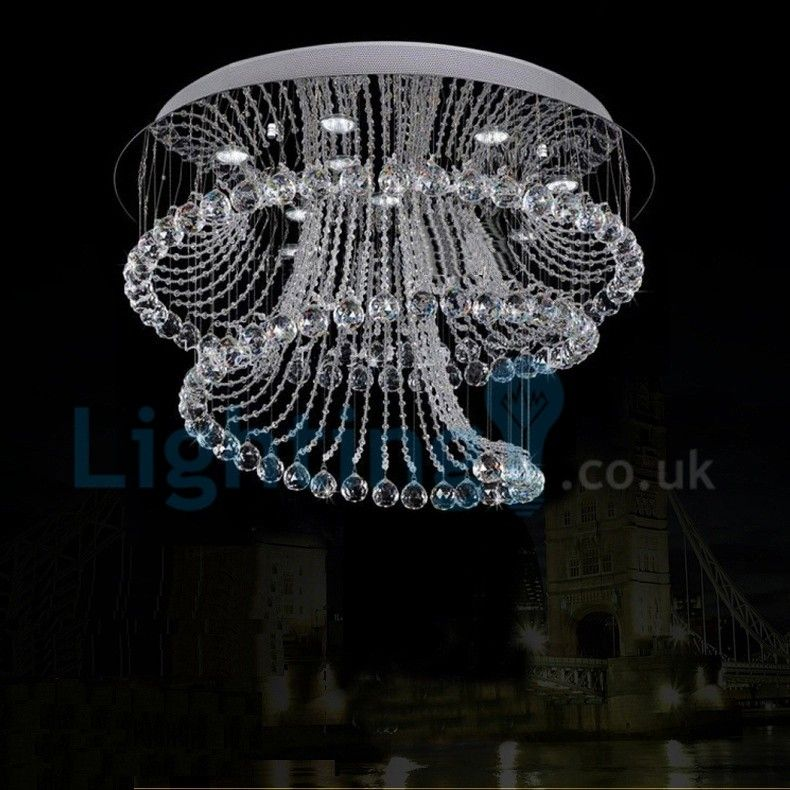 Pin By Lesa Mills On Rain Drop Lights Contemporary Chandelier Ceiling Light Design Crystal Chandelier Lighting