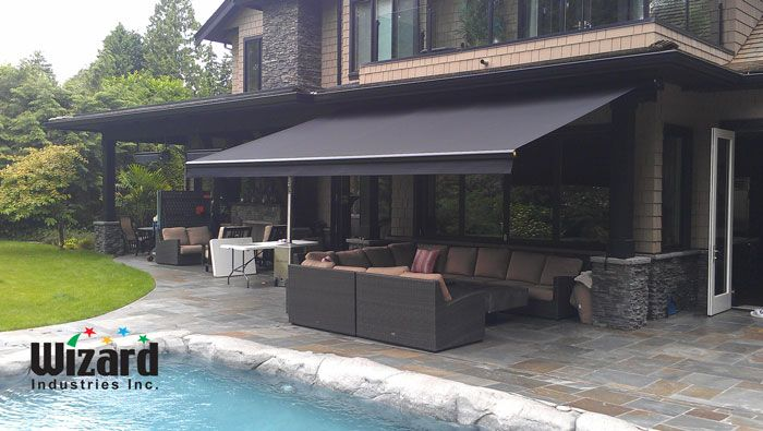 reputable site 28f9c 65e2d Retractable Awnings - Vancouver BC | Wizard Screens | Design ...