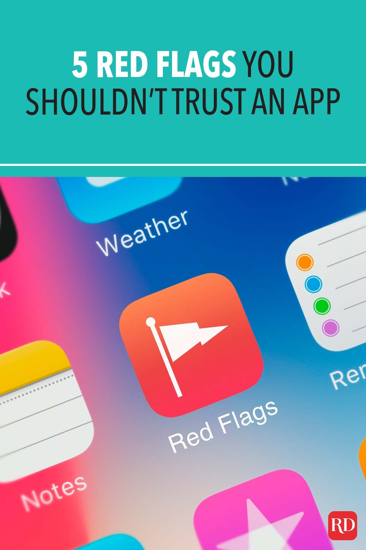 5 Red Flags You Shouldn T Trust An App In 2021 App Red Flag Photo Apps