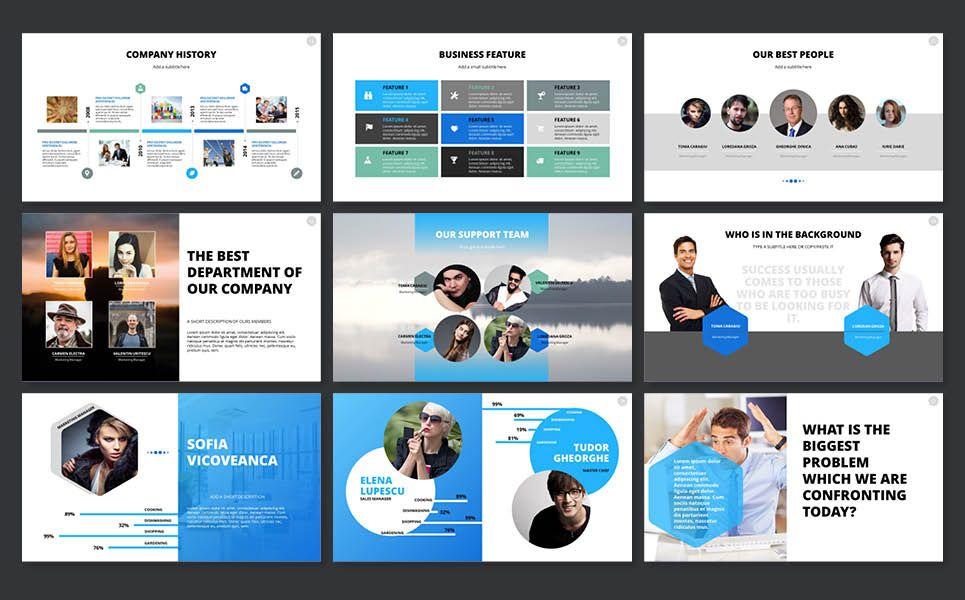 2018 Pitch Deck Powerpoint Template Presentation Design