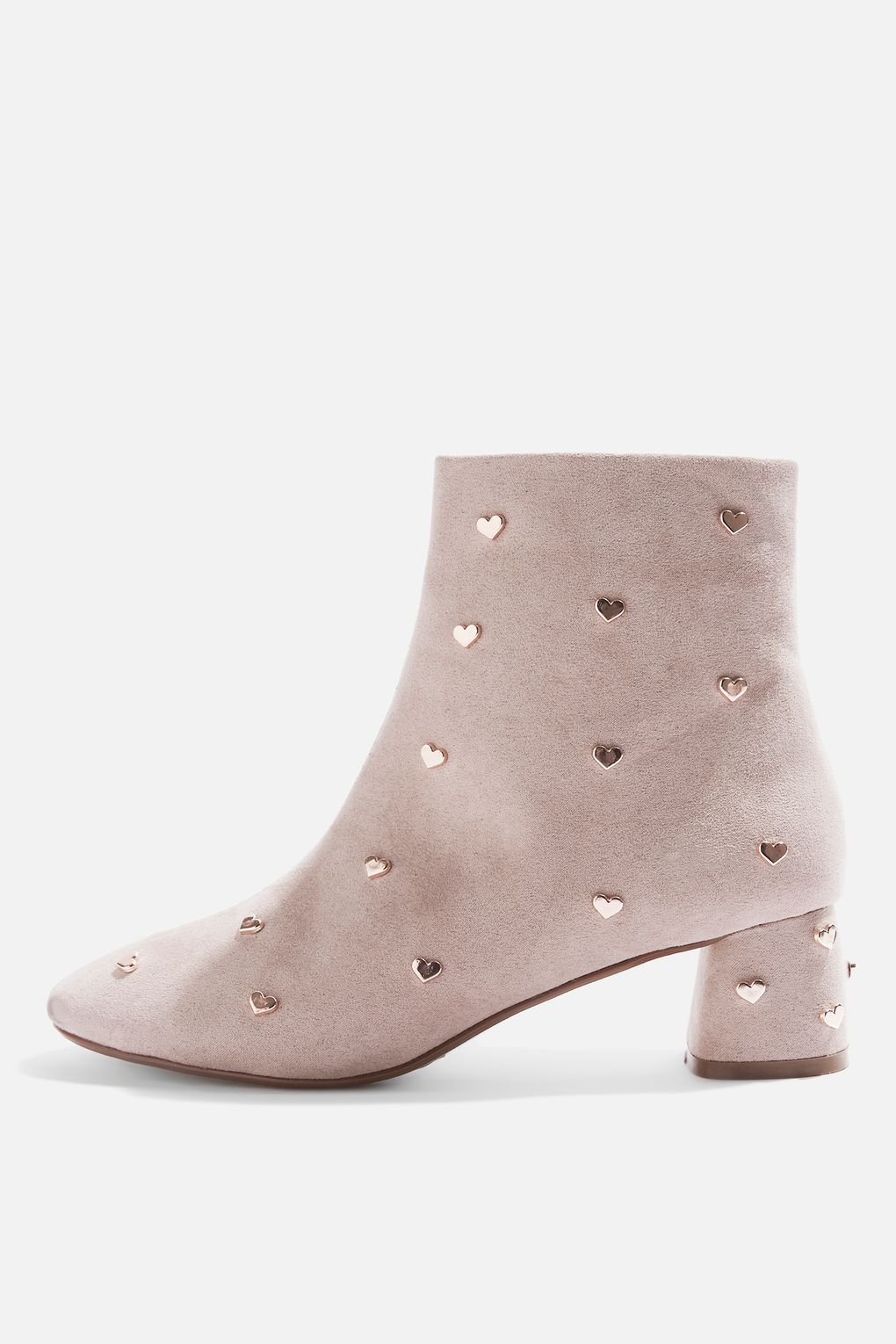 86745267d0cec6 BEE Heart Stud Angle Boots