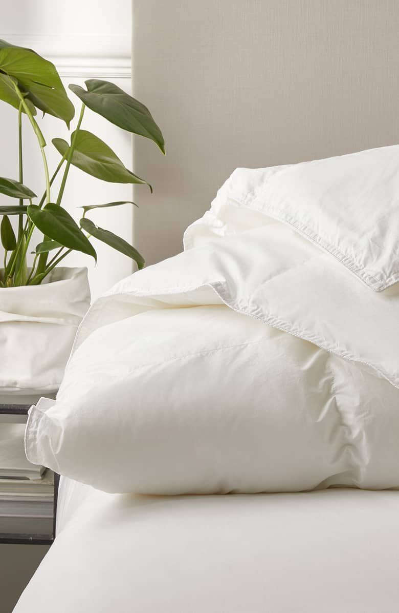The White Company Perfect Everyday Ultra Warmth Duck Feather Down Comforter Down Comforter The White Company Matching Bedding Curtains