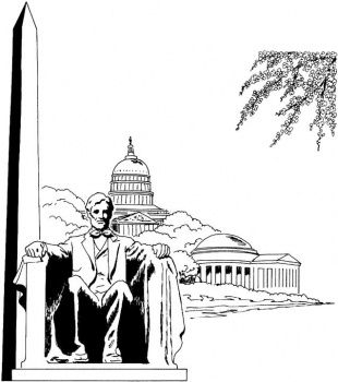 Washington Monument Free Printable Coloring Pages Coloring