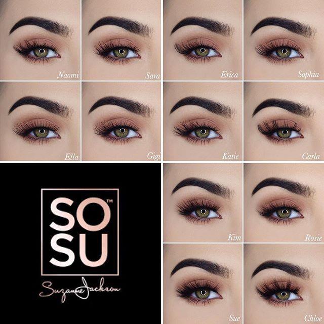 f662815e50d Love these false lashes!!! www. SOSU.ie #SOSUlashes #sosu ...