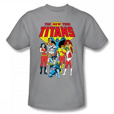 And teen titans group lucky