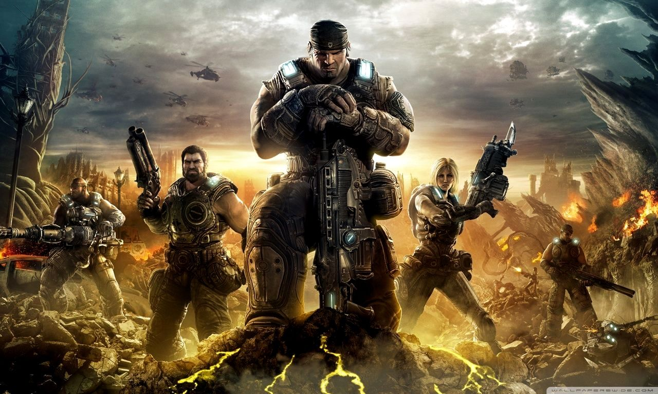 4k Gaming Wallpaper Download For Pc Gallery Gears Of War 3 Gears Of War 4k Gaming Wallpaper