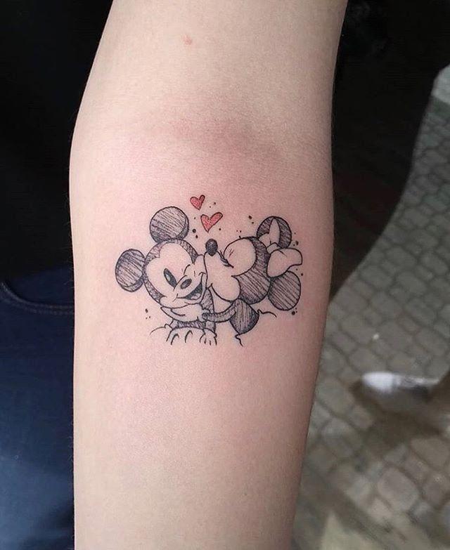Mickey and Minnie Sm