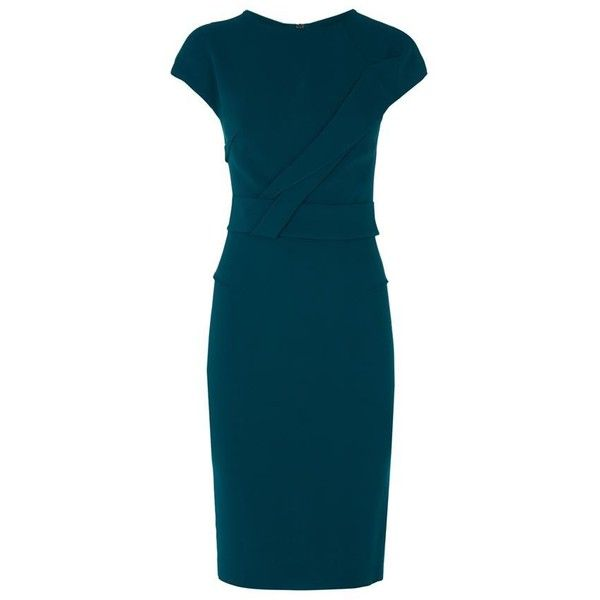 Form-Fitting Cocktail Dresses Turquoise