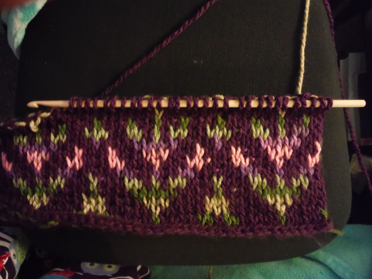 hooks-and-chains: I\'m converting a Fair Isle knitting pattern into ...
