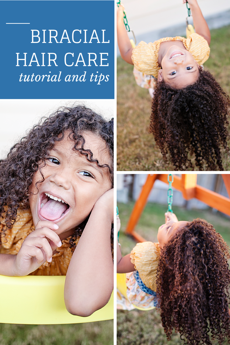 Straight perm for mixed hair - Tips For Biracial Hair Care And A Step By Step Guide Biracial