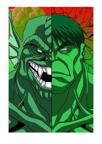 #Hulk #Fan #Art. (Abomination Vs Hulk) By: Andrew Fitzgerald. (THE * 5 * STÅR * ÅWARD * OF: * AW YEAH, IT'S MAJOR ÅWESOMENESS!!!™) ÅÅÅ+