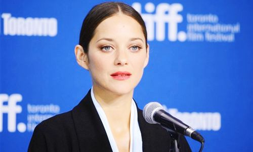 """Marion Cotillard at """"Blood Ties"""" Press Conference during the 2013 TIFF"""