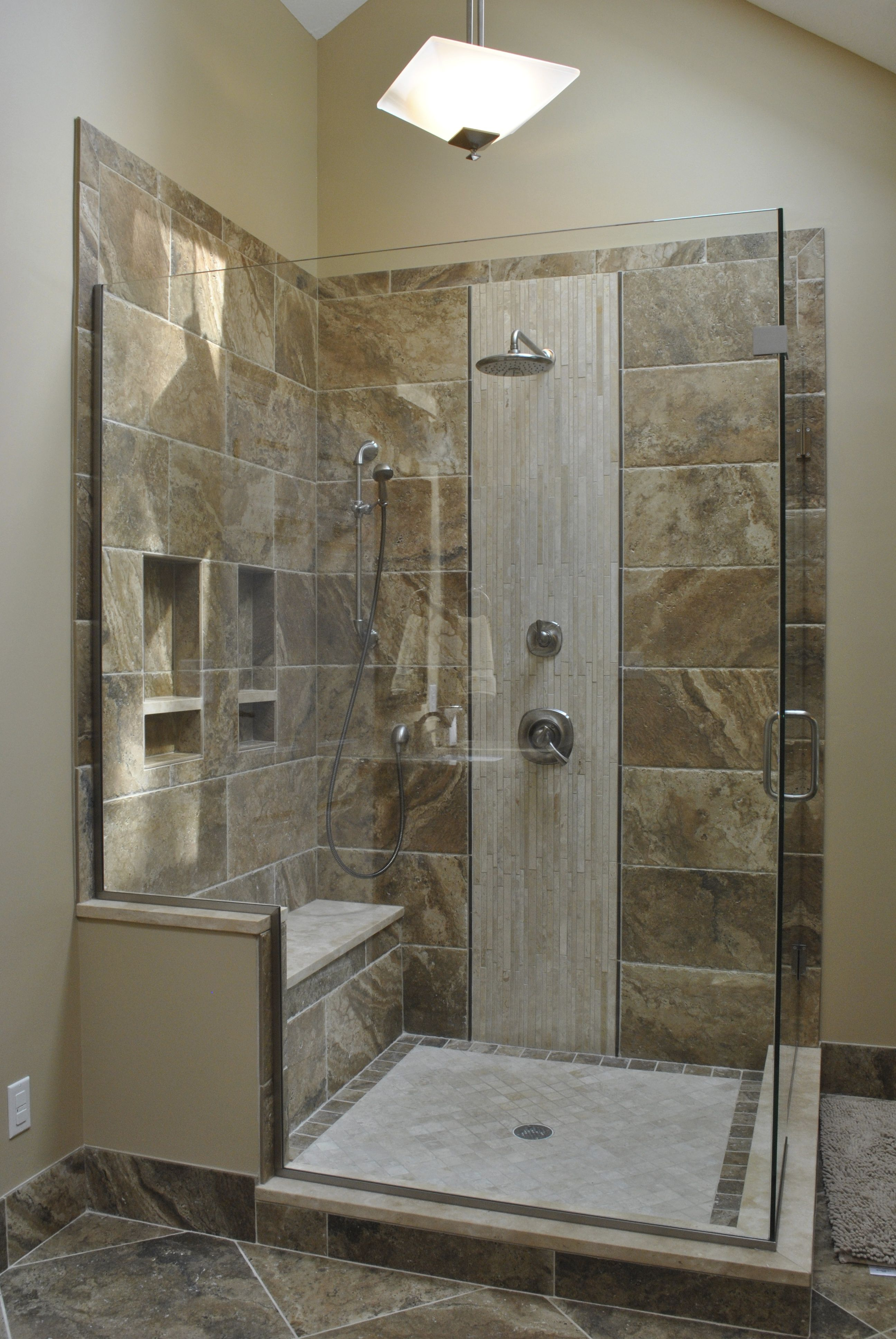 Large Shower Small Bathroom Makeover Budget Bathroom Remodel Basement Bathroom Remodeling