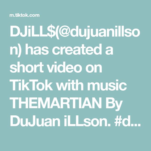 DJiLL$(@dujuanillson) has created a short video on TikTok with music THEMARTIAN By DuJuan iLLson. #dancing #dancingalien #savehowardthealien #martian #goodsong #boredaf
