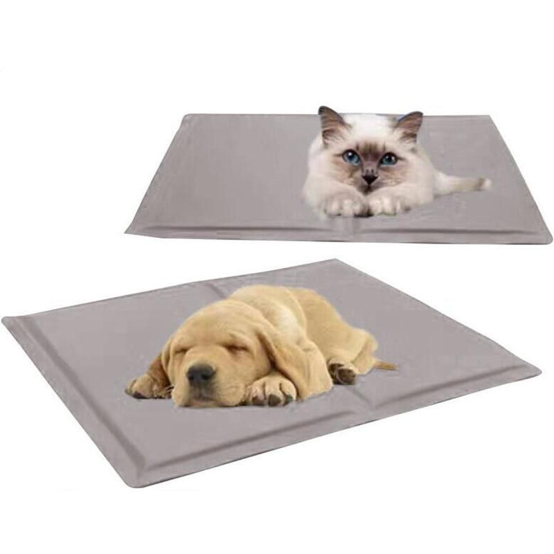 Dog Canine Pet Bed Cooler Mat Pad Cool Gel Non Toxic Pet Cooling