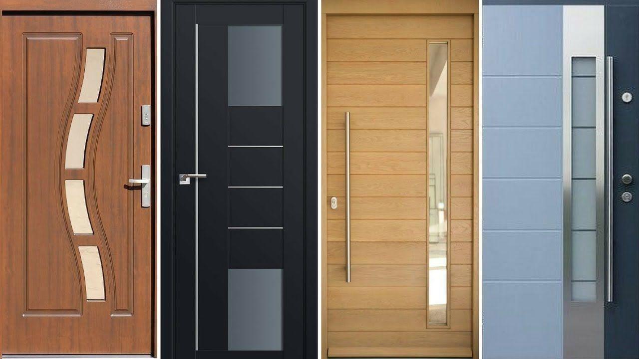 Top 40 Modern Wooden Door Designs For Home 2018 Main Door Design For Rooms House 1000 In 2020 Door Design Room Door Design Modern Wooden Doors