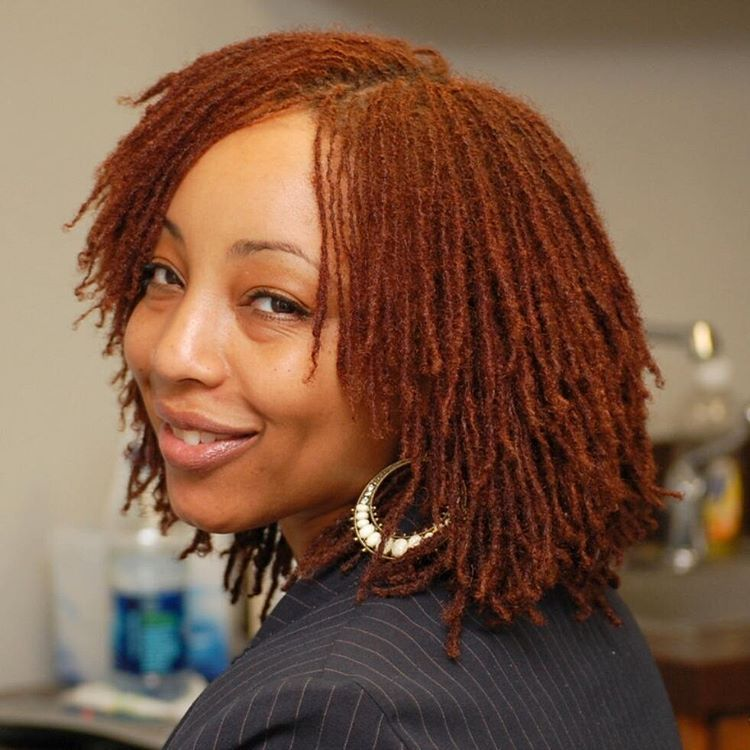 haircuts for african ladies what a beautiful color for the season sisterlocks 5953 | 516eeb6bb7f5953a12b644c730016277