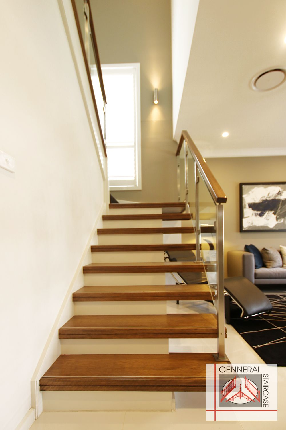 Floating Staircase | Cantilevered Stairs |