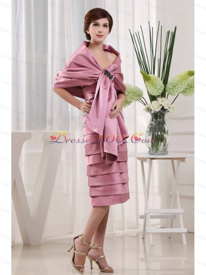 Mother of the Bride Dresses with Ruffles
