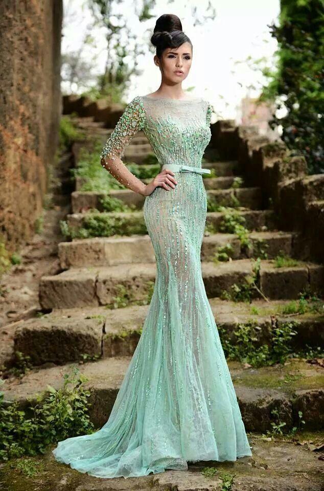 Rami Salamoun Gown | Dresses, Evening dresses, Haute ...