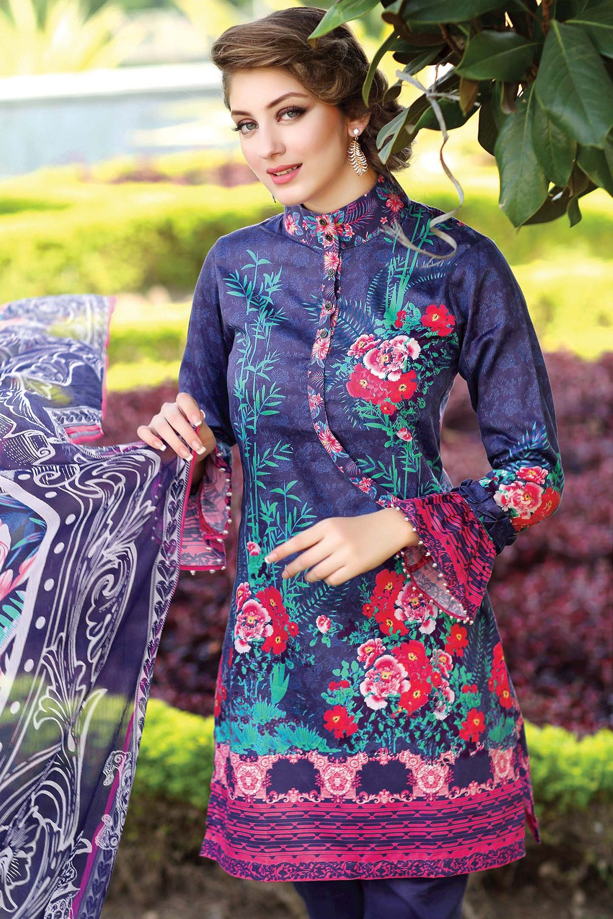 8520e21a6e Gul Ahmad Winter Latest Designer Dress Collection 2017 | Gul #Ahmad ...
