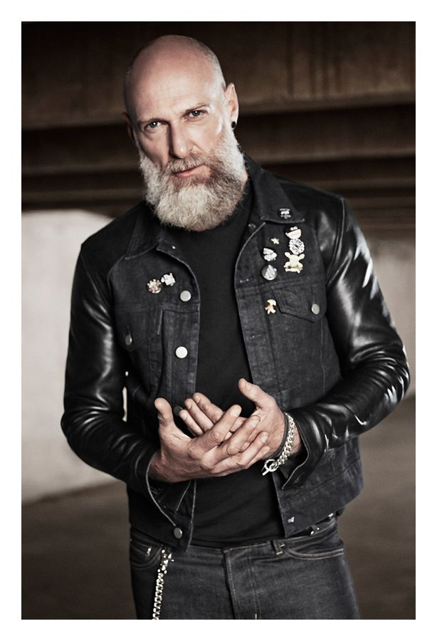 The Kooples SS14 #denim #leather #jacket #thekooples #man #collection
