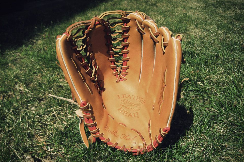 Leather Head Baseball Gloves | Uncrate | Guy Stuff