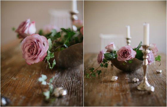 Elegant Floral arrangement in a salad bowl Floral adoration