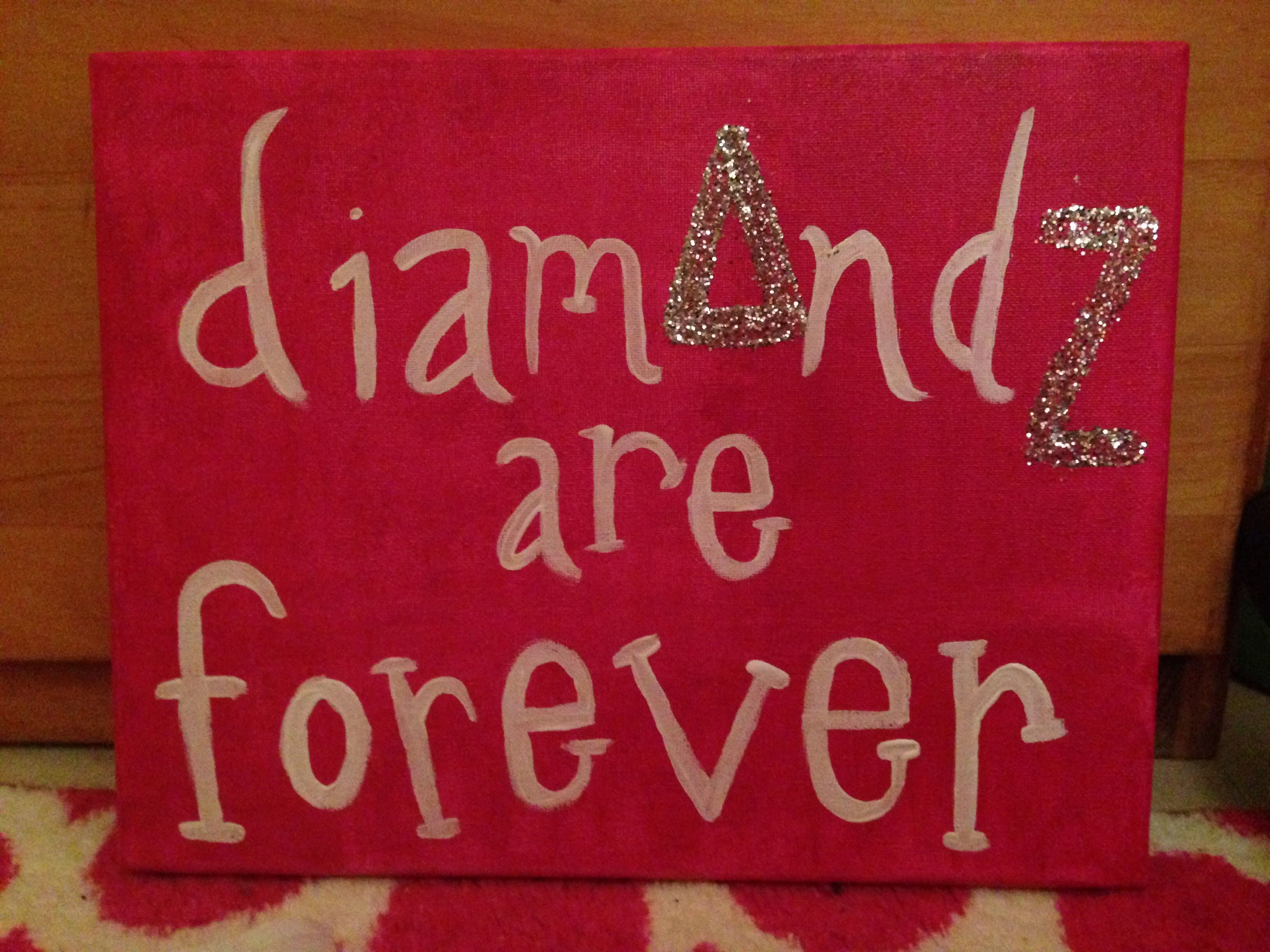 Pin by Casey Shimp on Littles | Delta zeta, Canvas quotes ...