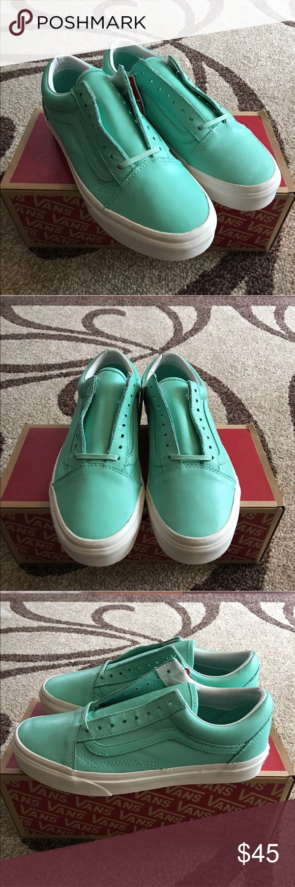 1f010b5e9e Women s Vans Old Skool Pastel Pack Ice Green Brand new with box