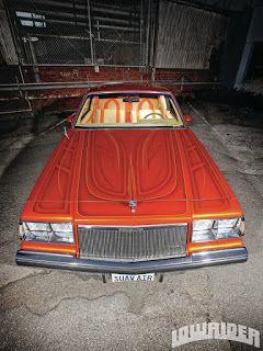 lowrider, custom car, hot rod, bikers and cars & girls: ZOOM sur la godfather regal