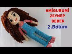 Amigurumi Zeynep Bebek Yapımı 2 (Ayakkabı) (Gül Hanım)