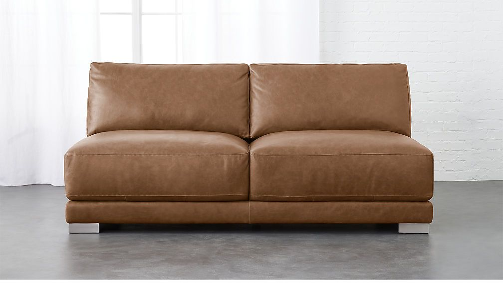 Awesome Gybson Cognac Leather Loveseat Faulkenstein Brown Machost Co Dining Chair Design Ideas Machostcouk