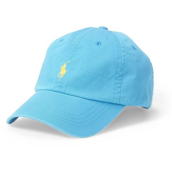 39a17117 Polo Ralph Lauren Classic Chino Sports Cap ($40) ❤ liked on ...