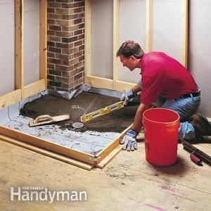 How To Build Shower Pans The Bathroom Pinterest Building A