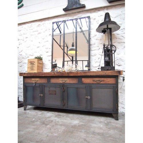Etabli d\u0027atelier métallique Home Sweet Home Pinterest Atelier