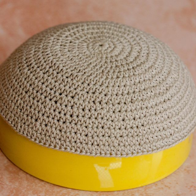 How to Crochet a Kippah | crochet kippah pattern | Pinterest