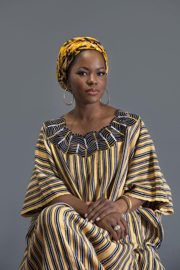 Macdella Cooper Liberian Authentic Country Cloth Liberian