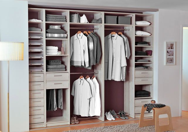 Dressing placard sogal closet pinterest placard for Amenagement interieur placard chambre