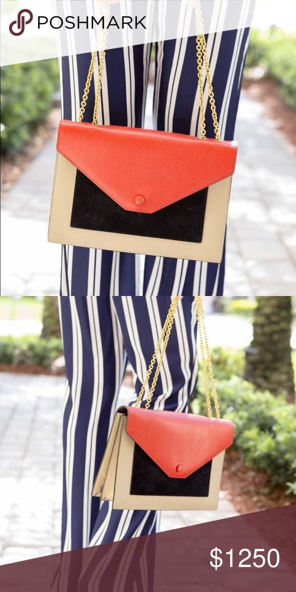 b3dbbb49722a Celine Envelope crossbody shoulder bag This bag is great for brunch ...