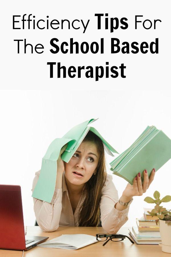 Efficiency Tips For The School Based Physical Therapist