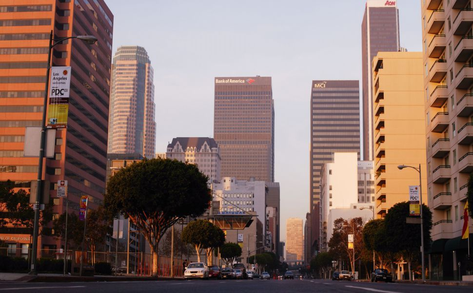 Los Angeles Street Hd Wallpaper Wallpapers Ciudades Los